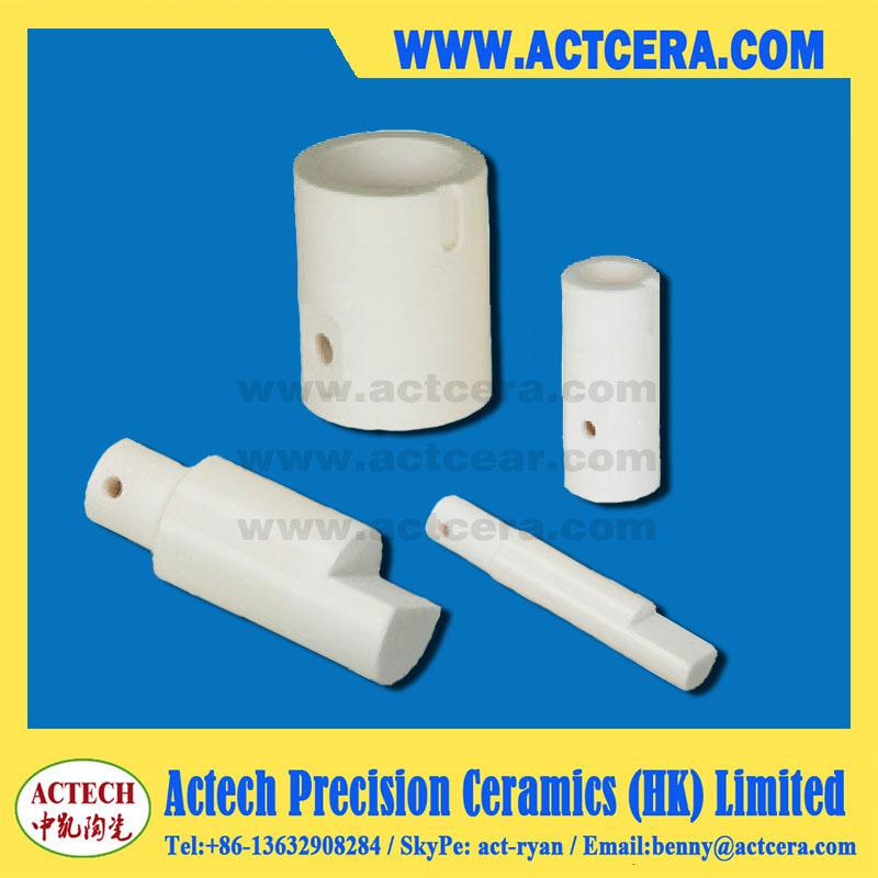 Zirconia and alumina ceramic plunger