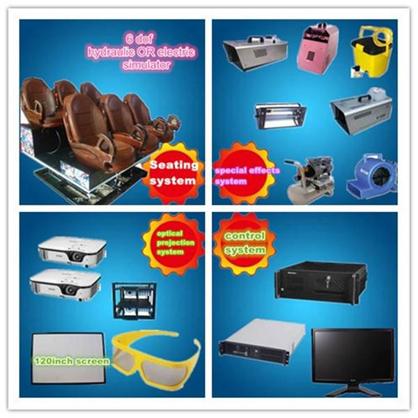 hot sale electric platfrom 5d cinema
