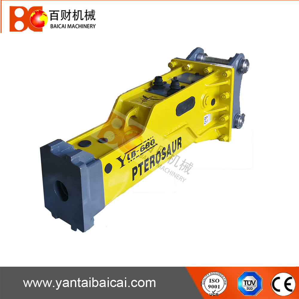 SOOSAN Box Silent Type Hydraulic Breaker for 4-7ton Excavator