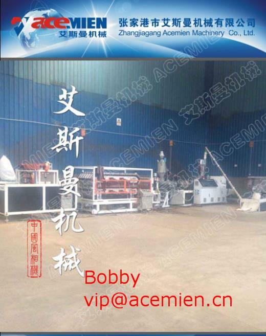 Max 5m/min 650kg/h PVC roof tile making machine