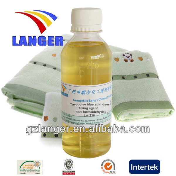 Turquoise Blue Acid Dyes Fixing Agent(non-formaldehyde) LA-230