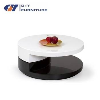 high gloss modern coffee table