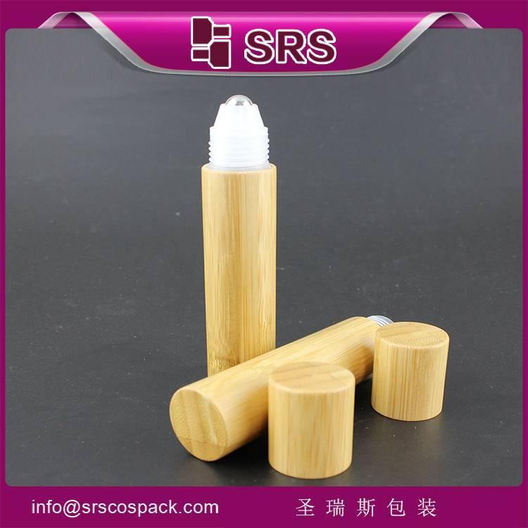 supply  20ml banboo roller ball bottle