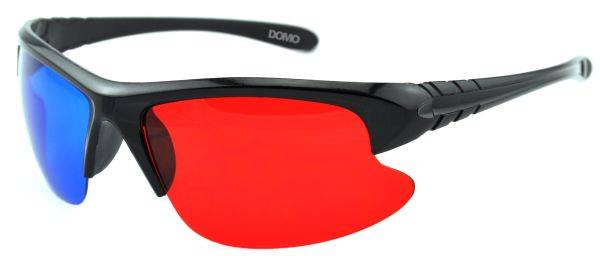 DOMO nHance RB420P Anaglyph Passive Red and Blue 3D Glasses