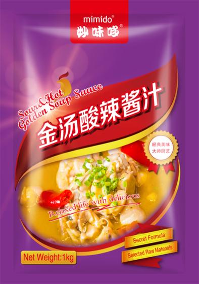 MIMIDO Sourd Hot Golden Soup Sauce