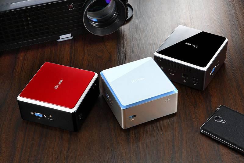 Mini pc windows 1080p HDMI, brand quad core Industrial Mini PC of latest design thin client