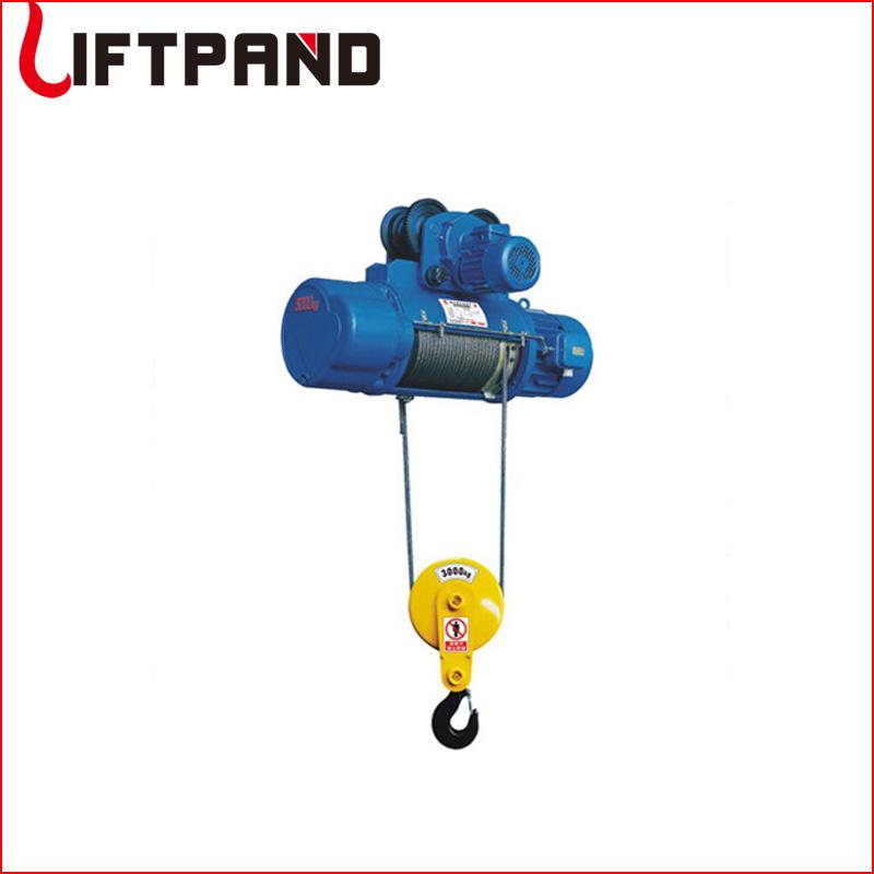 Hoist and crane electric wire rope winch machine