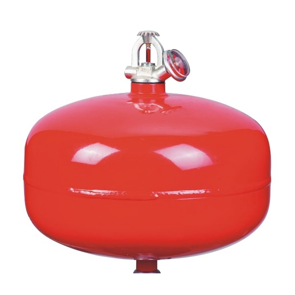 ceiling type fire extinguisher