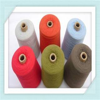 Color open end polyester yarn