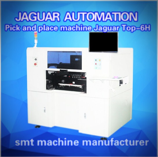 Automatic 6 heads Strip LED pick and place machine of TOP-6H