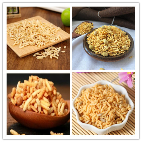 Fried rice puffed food production line