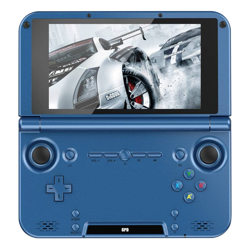 GPD XD blue games consoles handheld devices emulator