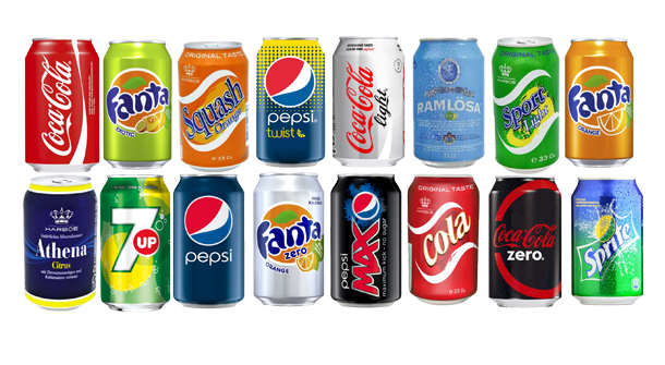 wholesale C0la , Sprite , Fanta, Pepsi, Schweppes, Bottles and Can
