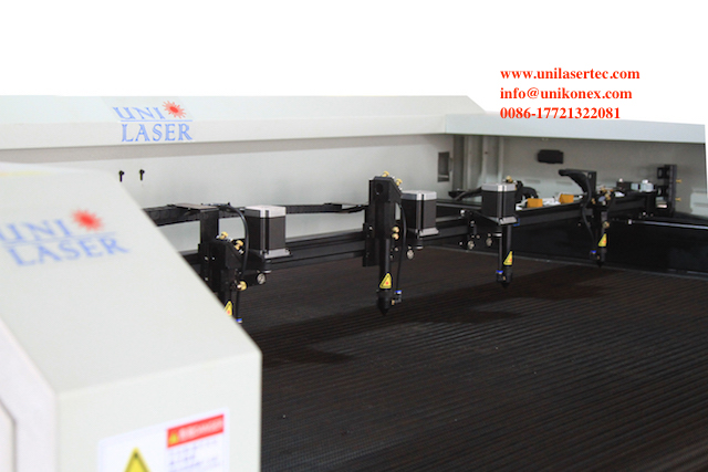 Laser Cutting Machine for four laser heads