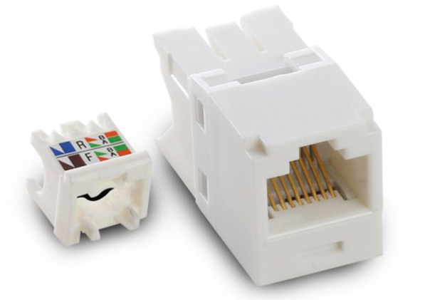 Panduit Cat6 UTP(unshielded) RJ45 Keystone Jack