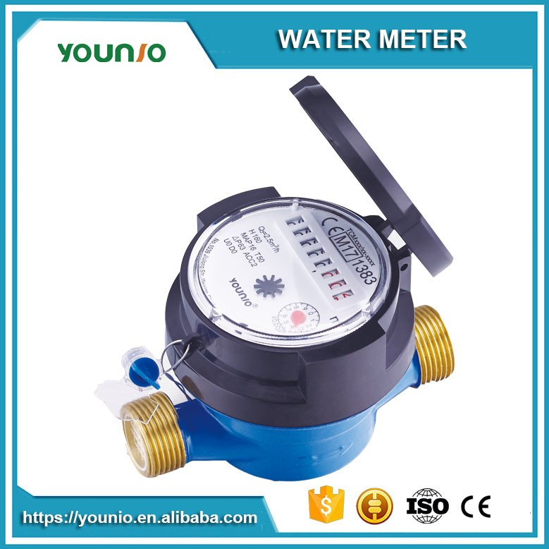 R160 Single Jet Dry type Water Meter