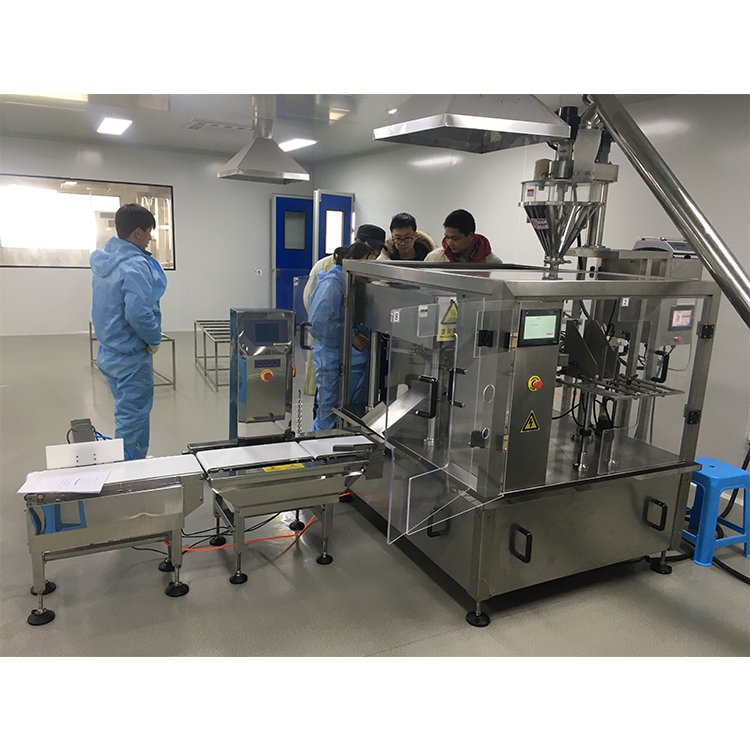 Automatic Powder filling machine milk pouch packing machine