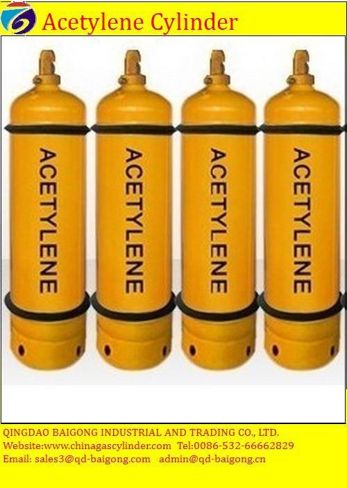 40L acetylene gas cylinder price