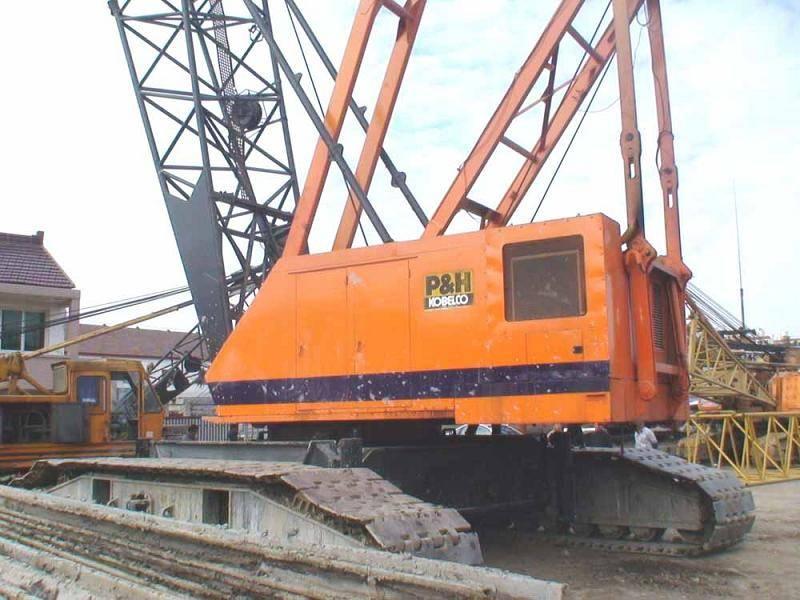 Used Kobelco 150ton Crawler Crane 7150