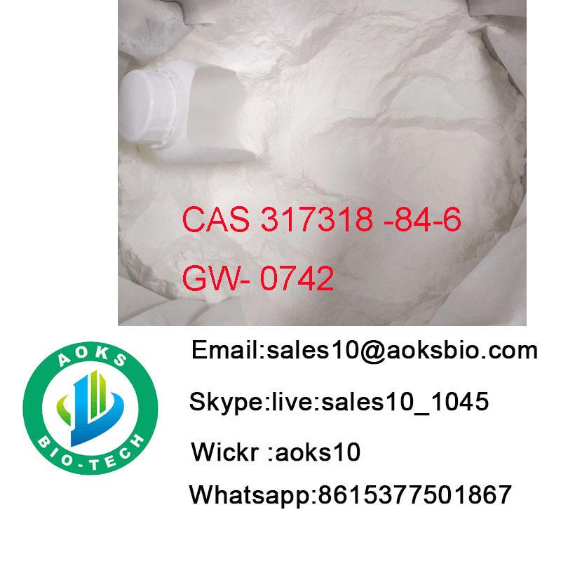 safe clearence Steroids powder Sarms CAS 317318-84-6 Gw0742