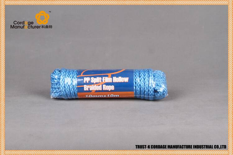 PP Split film 3 strand twisted rope