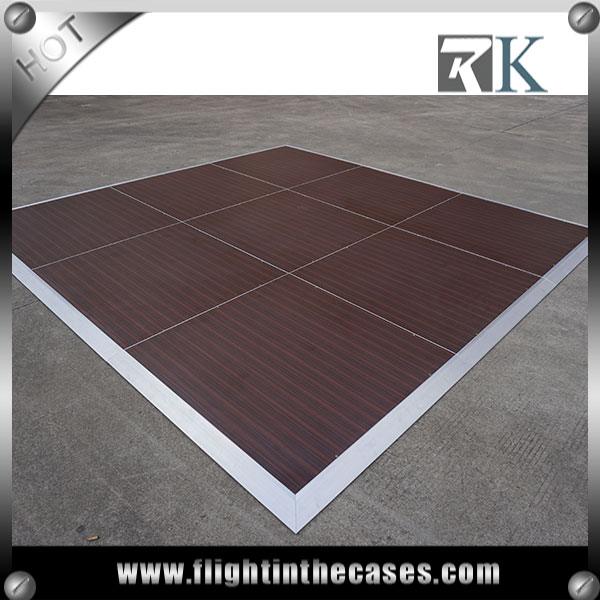 RK portable dance floor wood floor for sale