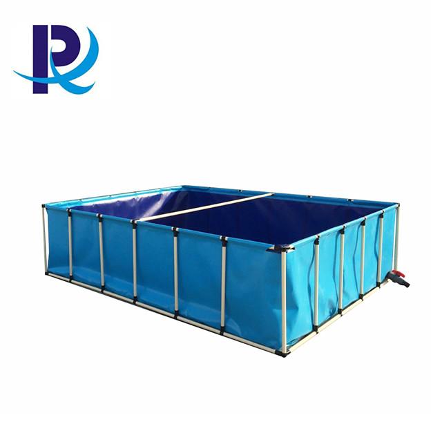 Foldable PVC Tarpaulin Tank Fish Pond