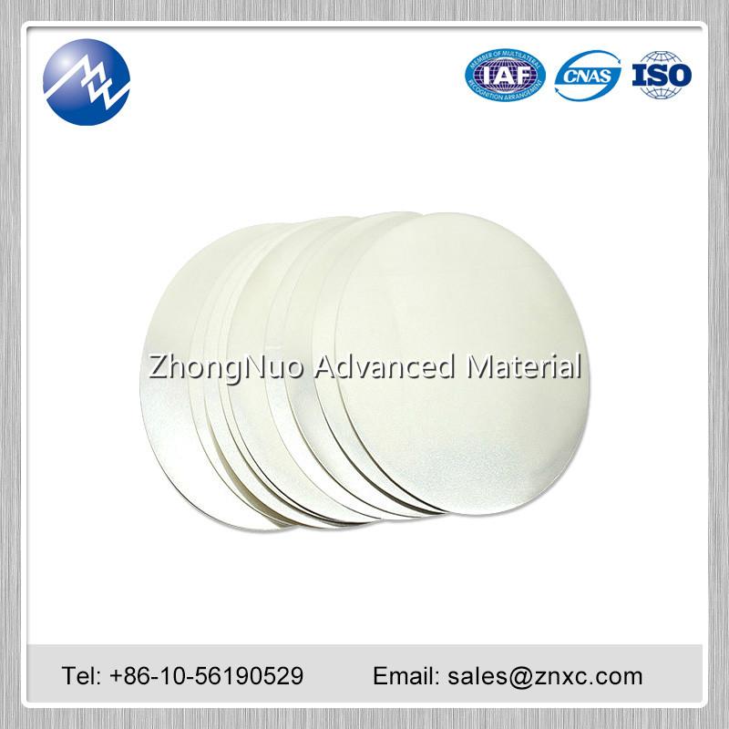 ZhongNuo Metal Sputter targets