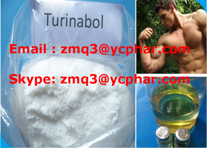 Oral Turinabol Anabolic Steroid Powder for Sale CAS: 2446-23-3