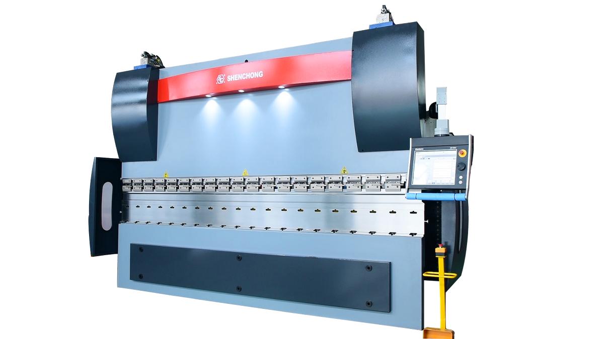 Hydraulic press brake CNC160T40000mm 6+1 DELEM 66T