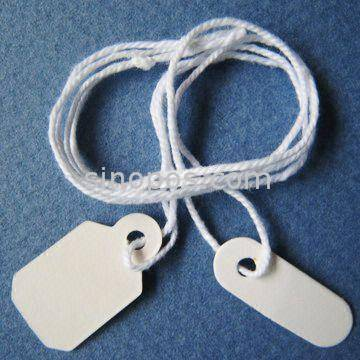 Garment Tags, Packaging Label, Price Tag ,Gift hang tag, Prestrung Jewelry Tags, of Small Size and S