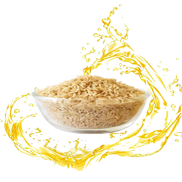 cooking with rice bran oil