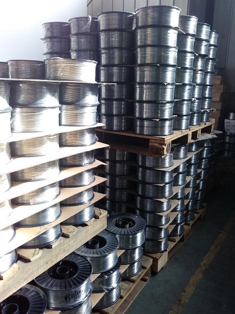 Manufacturer ZINC WIRE 99.995% Min 2.5mm 2.0mm 1.6mm 1.2mm Spray Metalizing Zinc Wire
