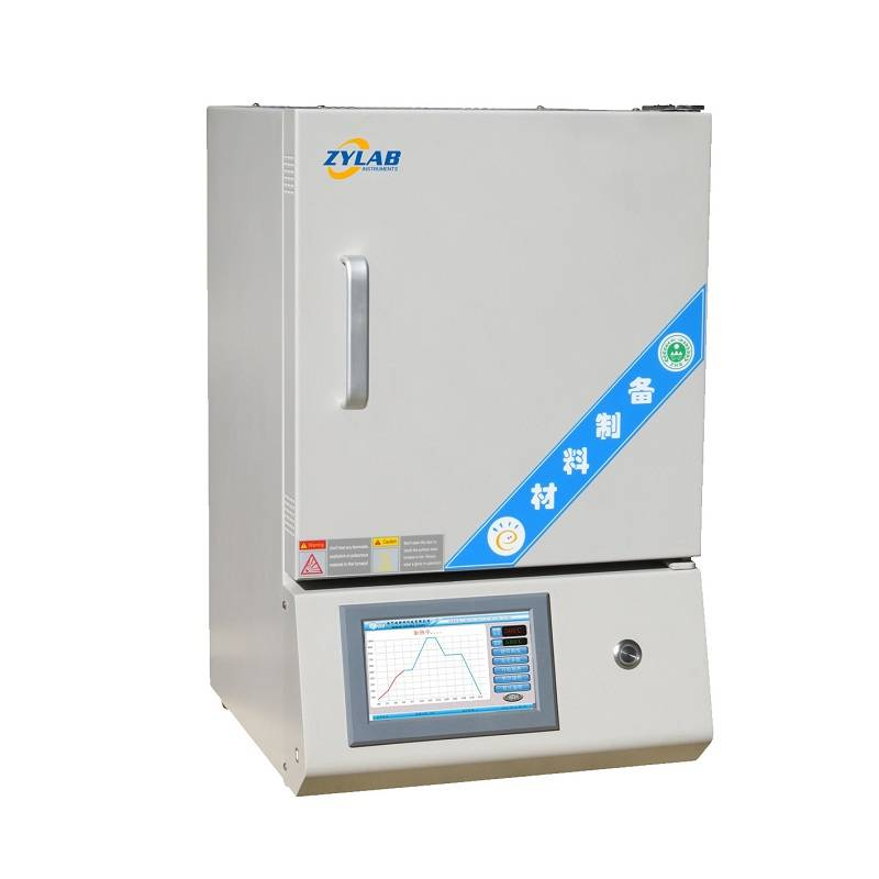 Popular! ! 1700 Degree C Touch Screen Muffle Furnace