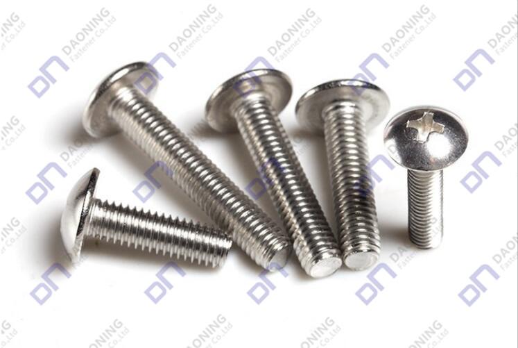 cross recessed pan head screws
