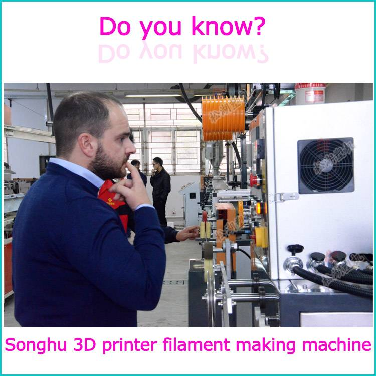 3D Printing Filament Extrusion Line