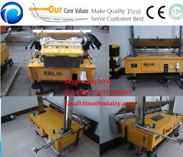 Automatic Wall Plastering Machine | High Quality Wall Rendering Machine