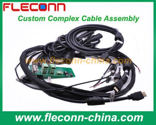 Custom Complex Cable Assemblies and Complicated Cable Looms