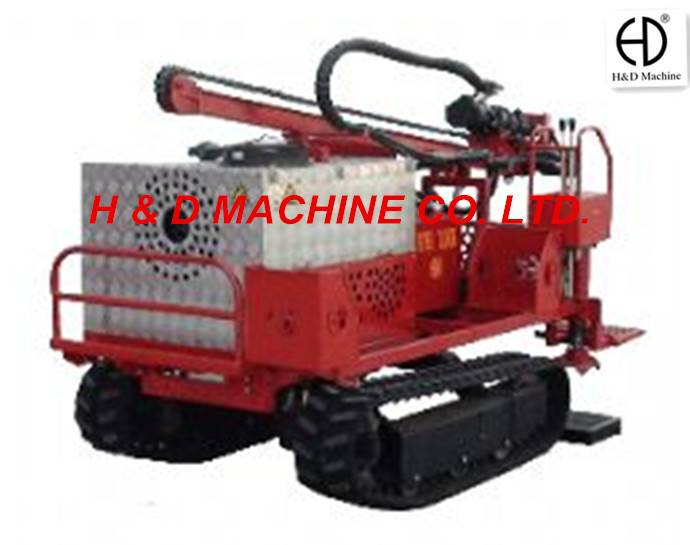 HD-C30 Mechanical Drive Crawler Drilling Rig