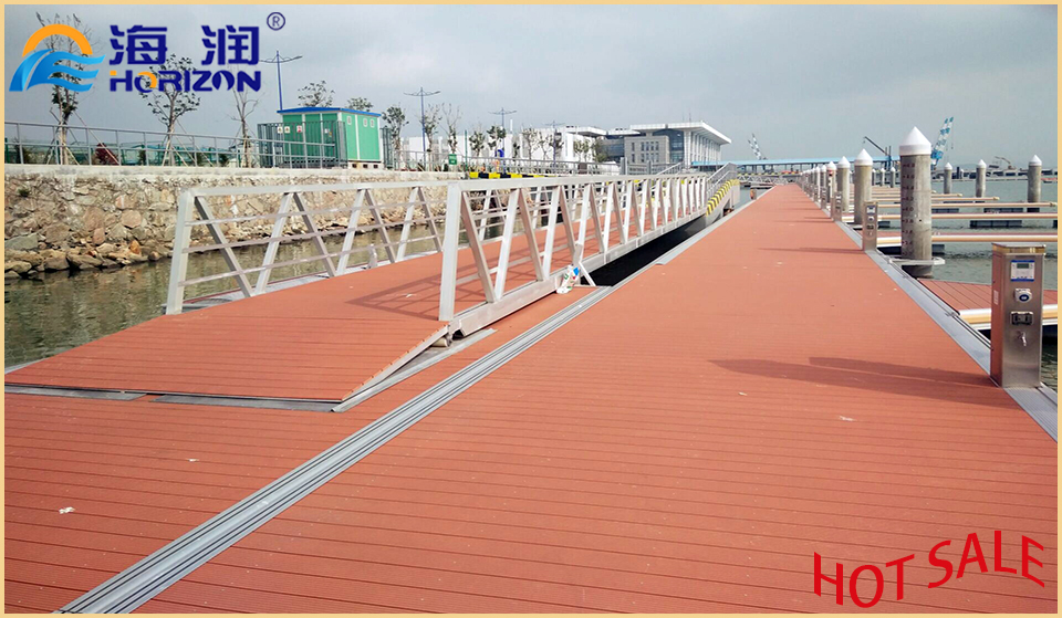 Manufactured Stable Aluminum Alloy Gangway Ladder