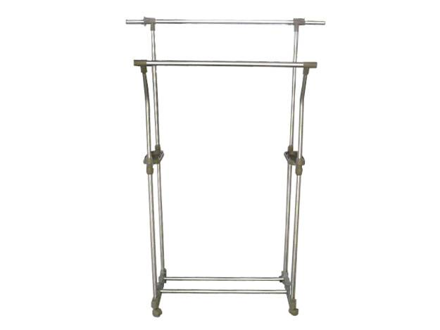 Fashionable double bars clothes dryer