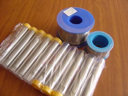 Aluminum soldering wire