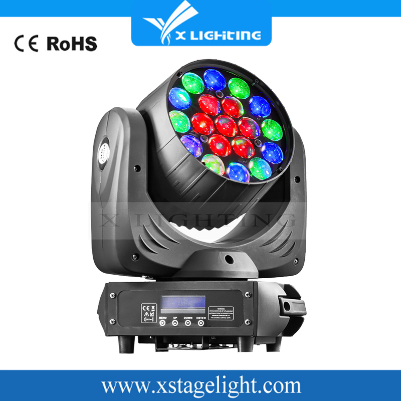 led moving head beam zoom wash led lighting b eye K10