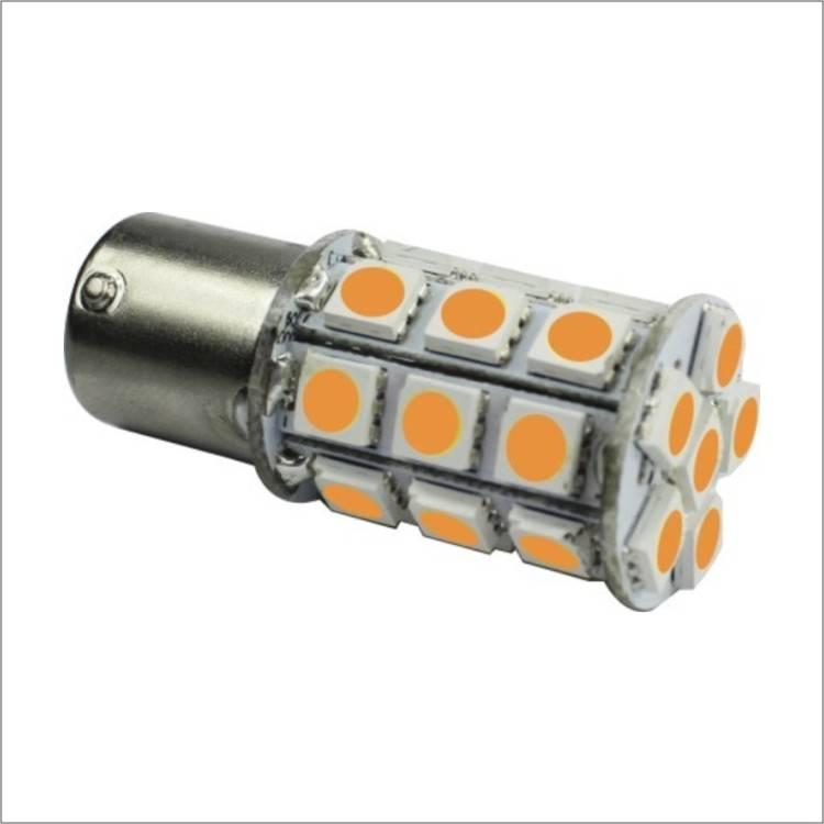 Aumotive Lights 3000-3500K  DC8-30V 5050SMD*27pcs 1156Base