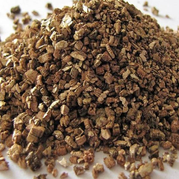 Exfoliated vermiculite