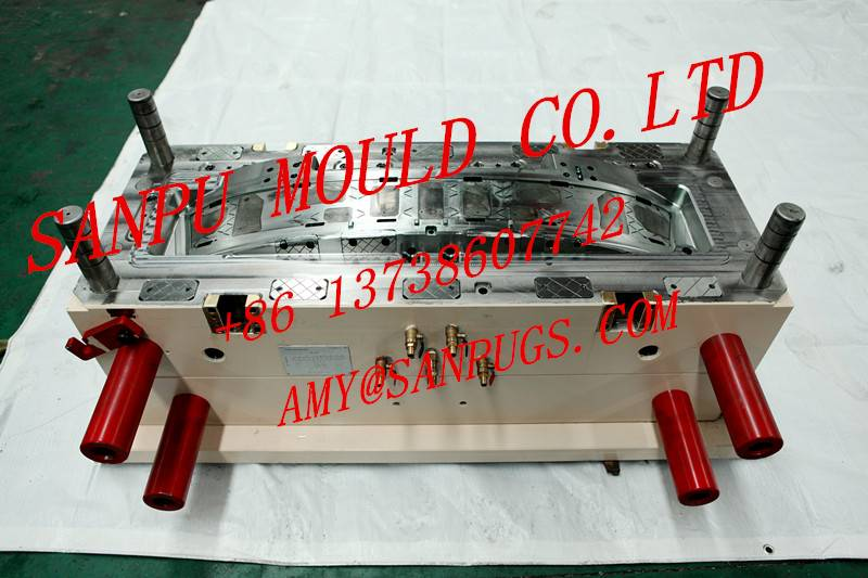 Plastic precision CNC milled parts by professional auto grills mold customized