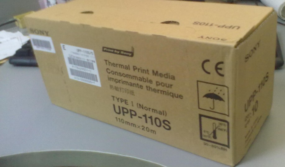 Ultrasonic Thermal rolls,Sony UPP-110s,Sony UPP-110HG,Ultrasound Paper,Sony Thermal Paper,thermal vi