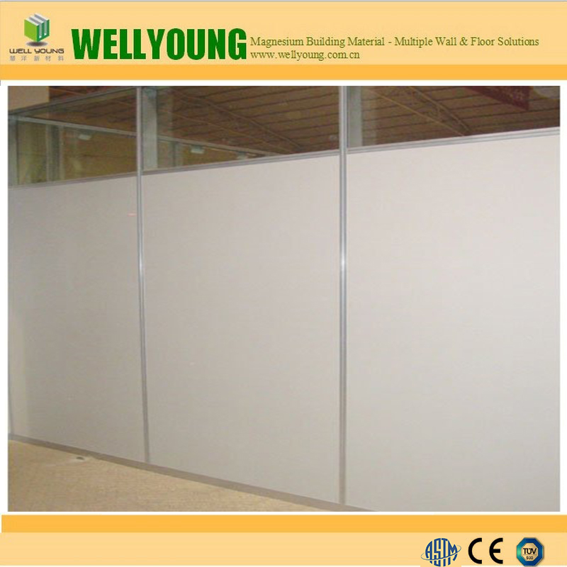 fireproof mgo board for concrete fill wall system
