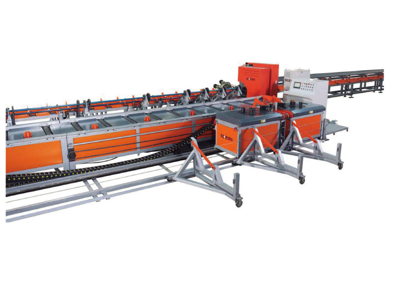 INTEGRATED REBAR SHEAR & BENDING LINE