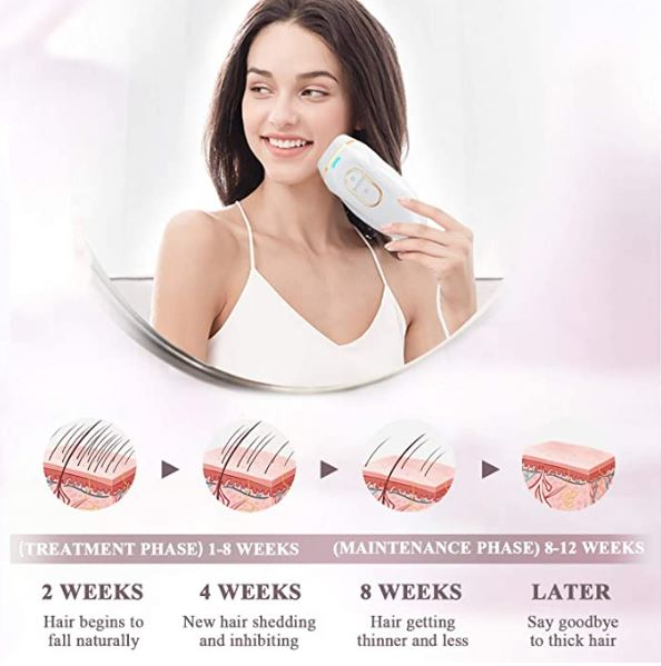 Newest portable ipl laser hair removal machines home use